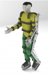 robotický exoskelet