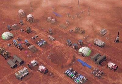 rozšiřování aktivit na Marsu