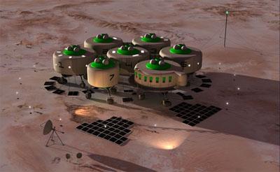 první stanice na Marsu